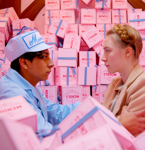 A scene from 'The Grand Budapest Hotel'