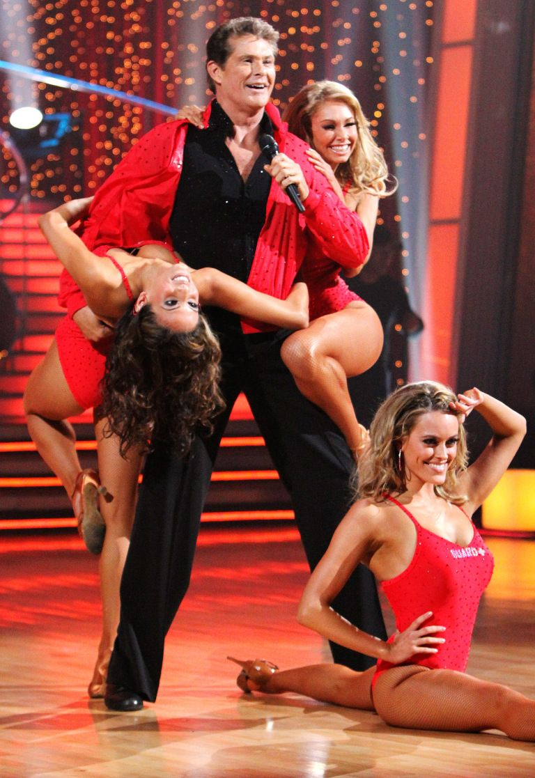 David Hasselhoff, ABC's 'Dancing With The Stars' TV show, 2010