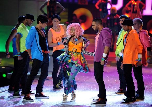 Nicki Minaj Victoria Secret Fashion Show Performance, 2011