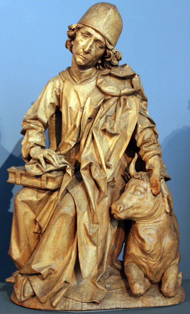 The Four Evangelists (Luke), Tilman Riemenschneider, 1490–2