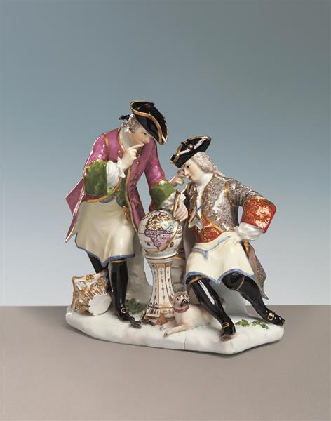 Meissen's Freemasons, Kaendler and Eberlein, 1742
