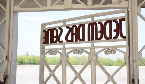 Buchenwald gate, Ehrlich, 1938
