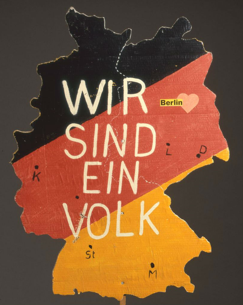 Placard, Berlin, 1989