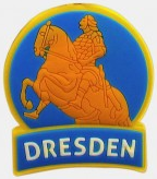 Golden Horseman Magnet