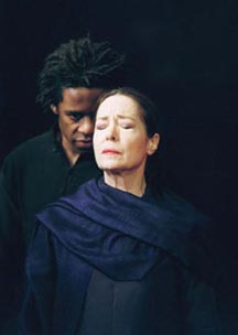 Peter Brook's Hamlet and Gertrude