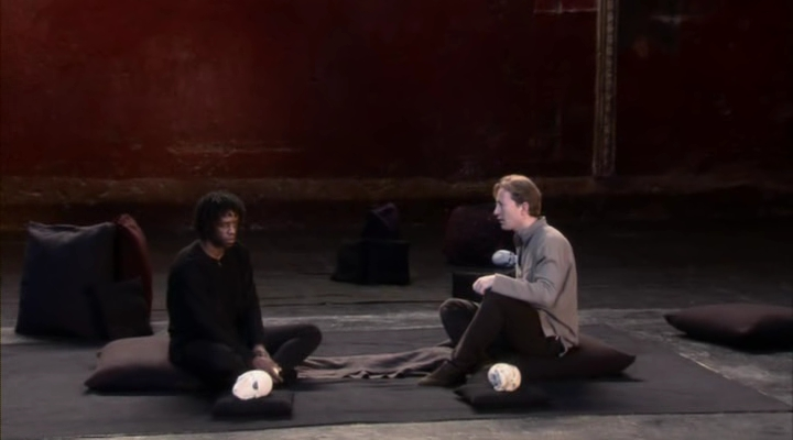 Peter Brook's Hamlet and Laertes