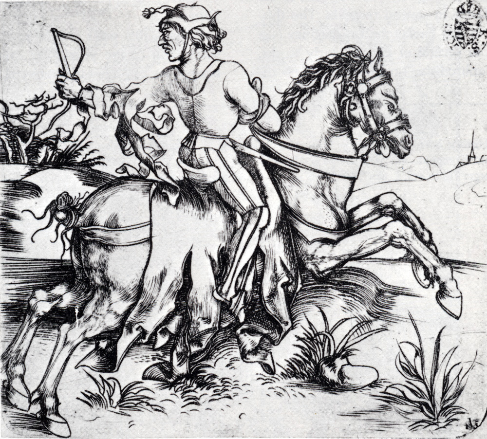 The Great Courier, circa 1495, Albrecht Dürer