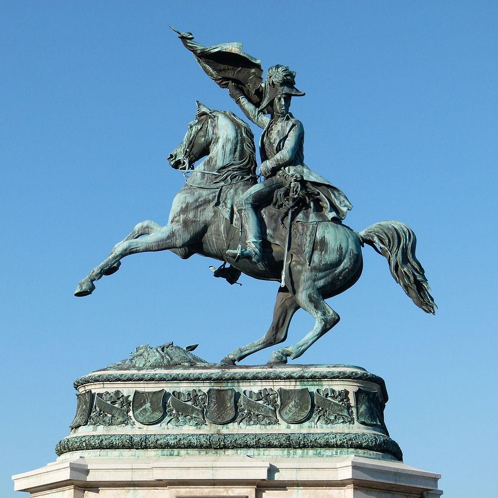 Statue of Archduke Karl, 1860, Vienna