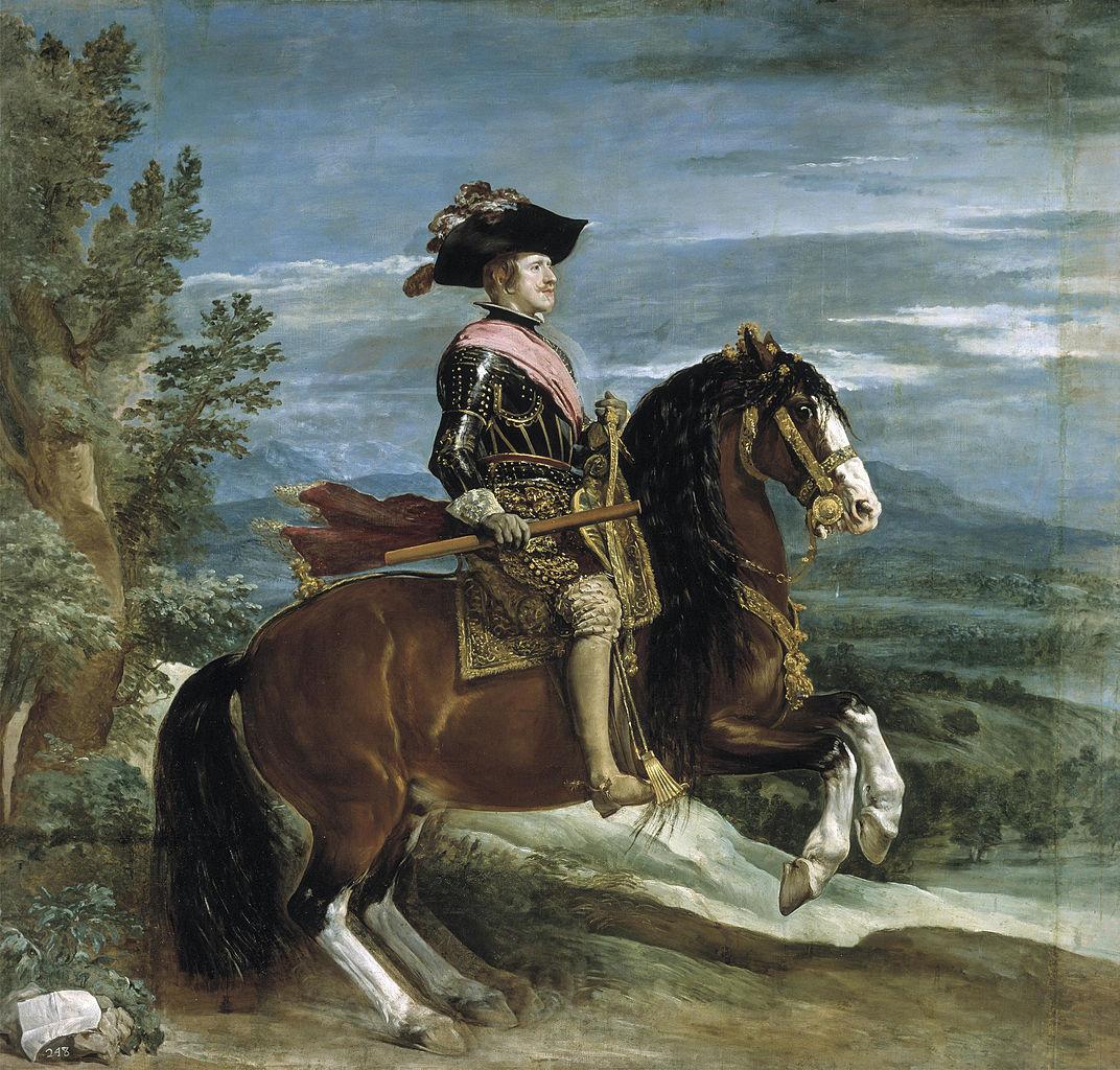 Philip IV on Horseback, 1631-6, Diego Velázquez