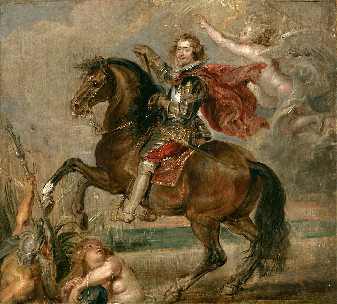 COMPARANDUM: Equestrian Portrait of the Duke of Buckingham, 1625, Peter Paul Rubens