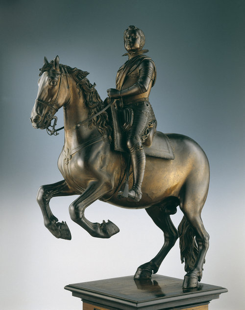 Equestrian statuette of Louis XIII, 1619-21, Pietro Tacca