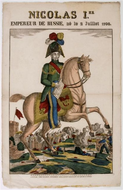 Nicholas I of Russia,before 1837, made in France