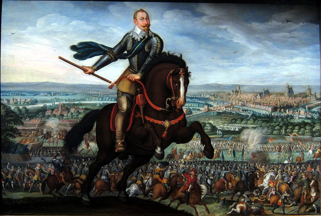 Gustavus Adolphus of Sweden at the battle of Breitenfeld,1632, Johann Walter