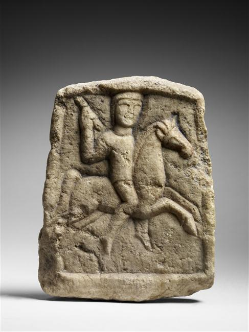 Bas-relief of a Thracian horseman, 1st quarter of the 4th century BC (?)