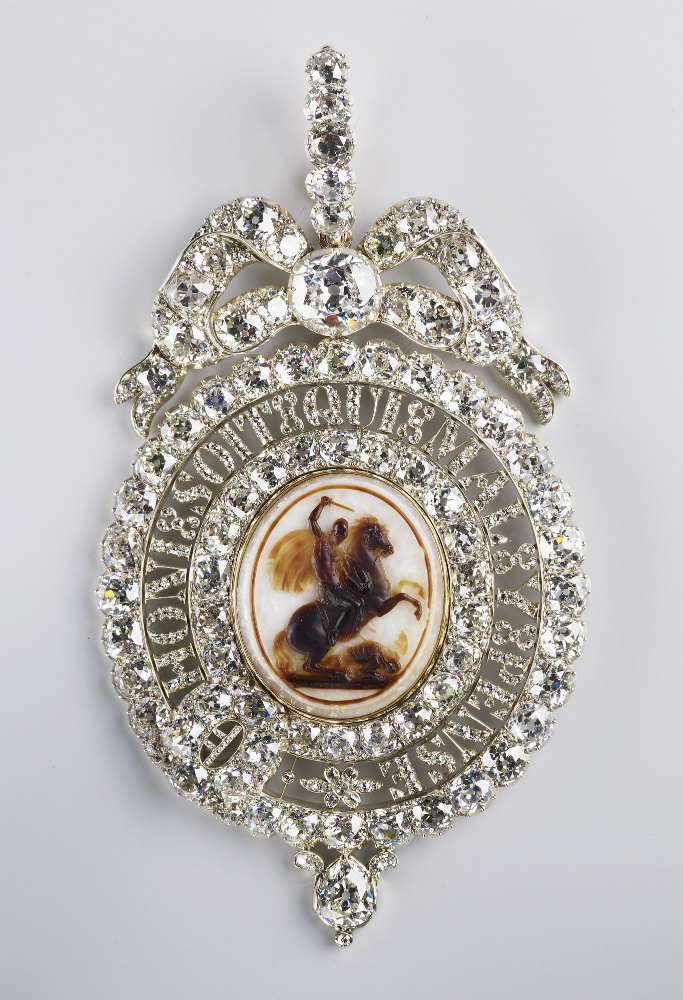 An Order of the Garter Lesser George, early 19th century, England
