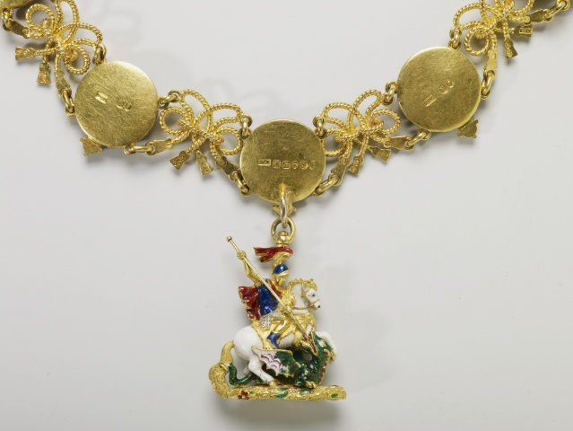 Garter collar and Great George, 1837, England
