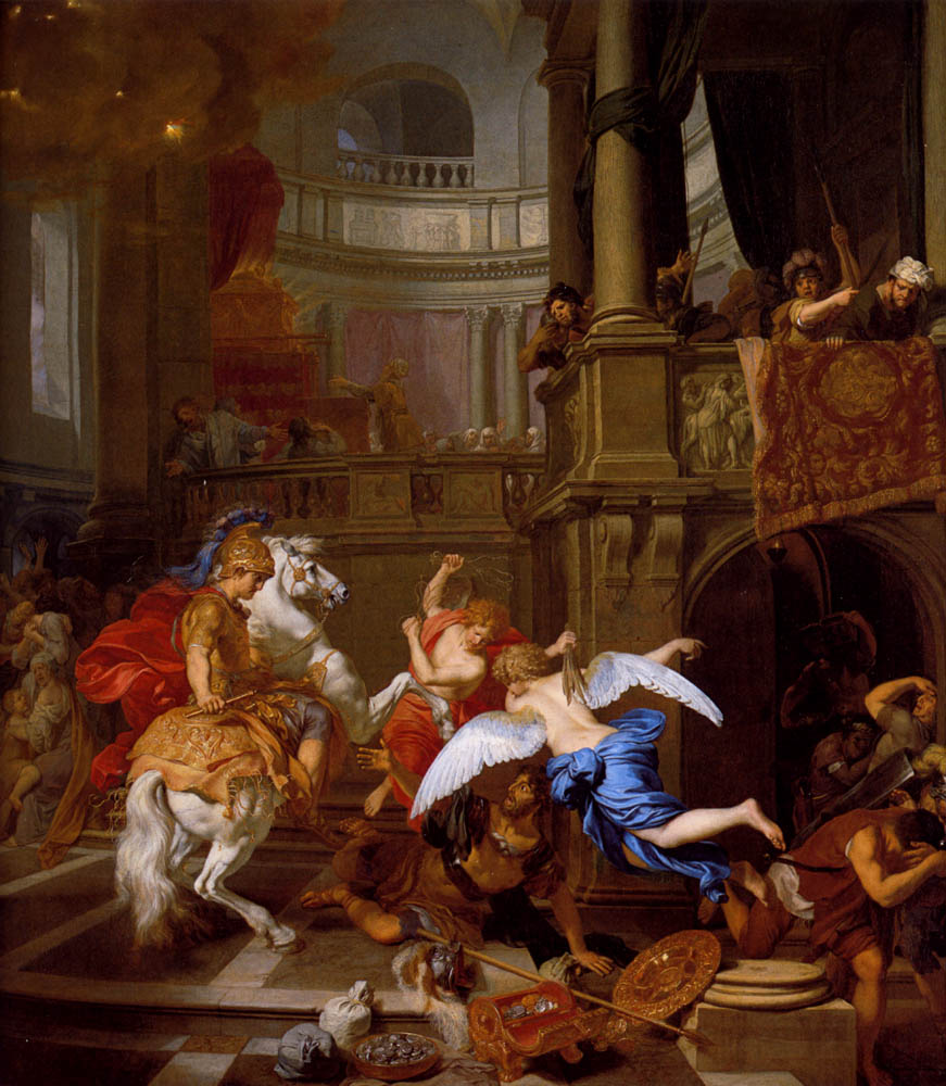 Expulsion of Heliodorus from the Temple, 1674, Gerard de Lairesse, Netherlands
