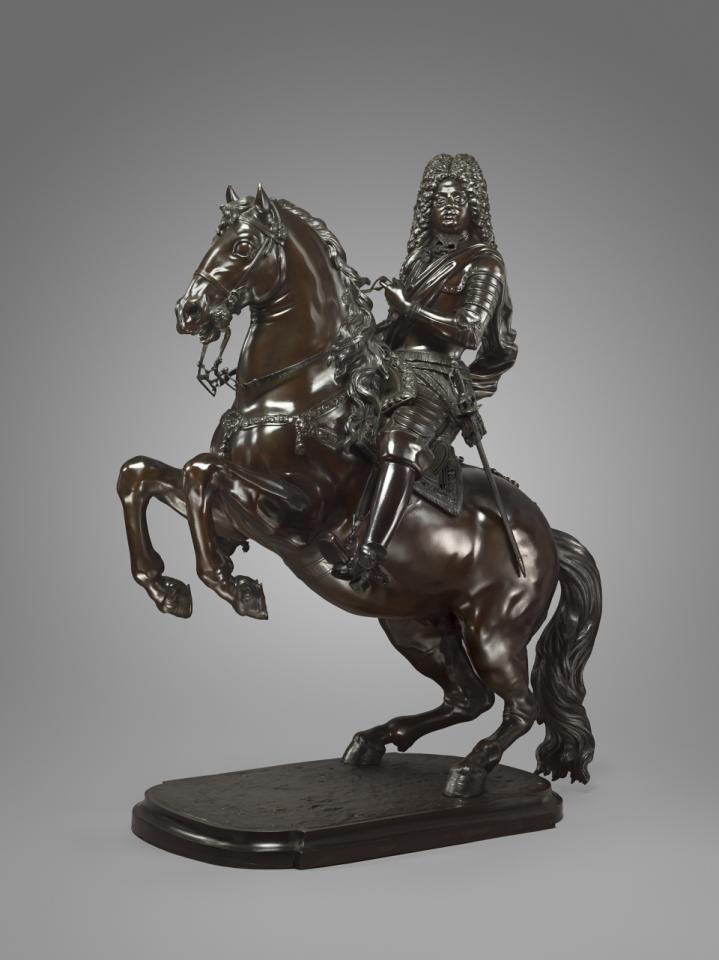 Prince Ferdinando di Cosimo III on Horseback, 1717, Giuseppe Piamontini, Florence