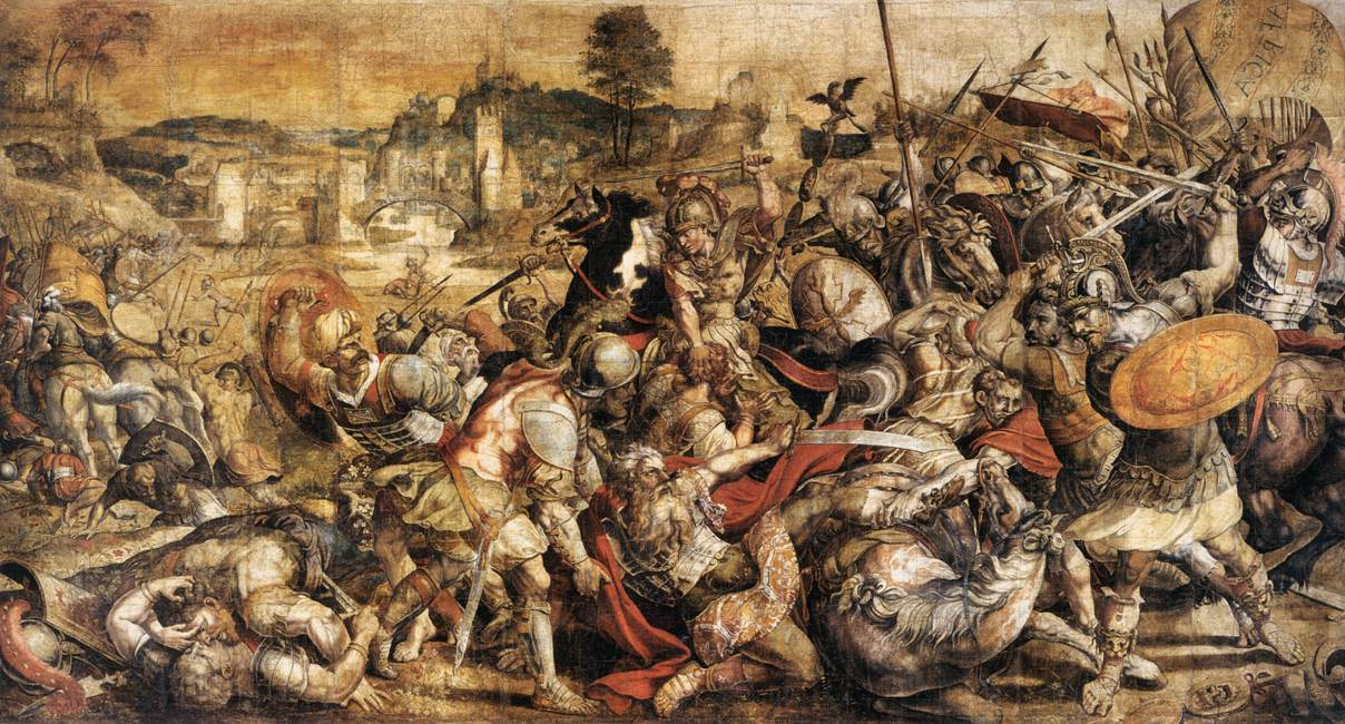 Battle of Ticinus (218 BC), 1550s, Mantua, Italy