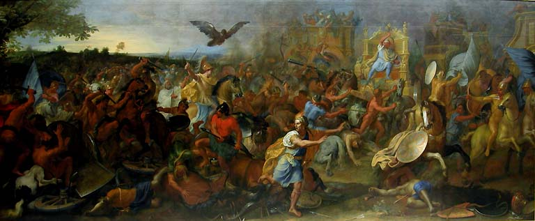 The Battle of Arbela, 1669, Charles Le Brun