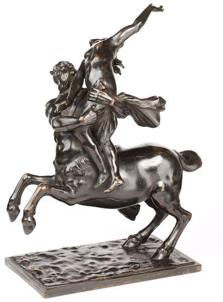 Nessus and Deianira, 1635-1645, Francesco Fanelli, Anglo-Italian