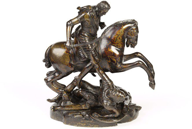 Henry IV destroying his enemies, ca. 1603, Barthélémy Prieur, France