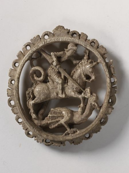 Medallion with St. George and the Dragon, late 15th - early 16th century, Germany
