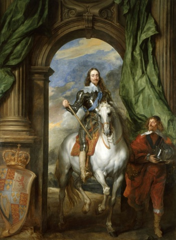 Charles I with M. de St Antoine,1633, Anthony van Dyck