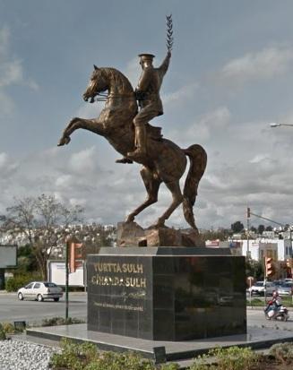 Statue of Mustafa Kemal Atatürk, ?, Bodrum, Turkey