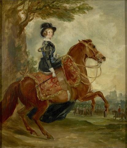 Queen Victoria (1819-1901) on Horseback,1845, Sir Francis Grant