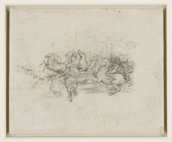 A body of cavalry, c.1503-4, Leonardo da Vinci