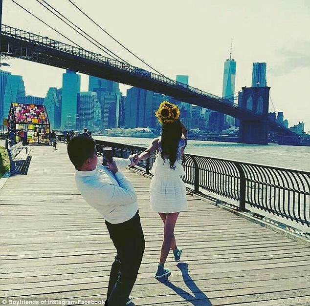 Behind the scenes of a #FollowMeTo photo of an unknown Instagram user