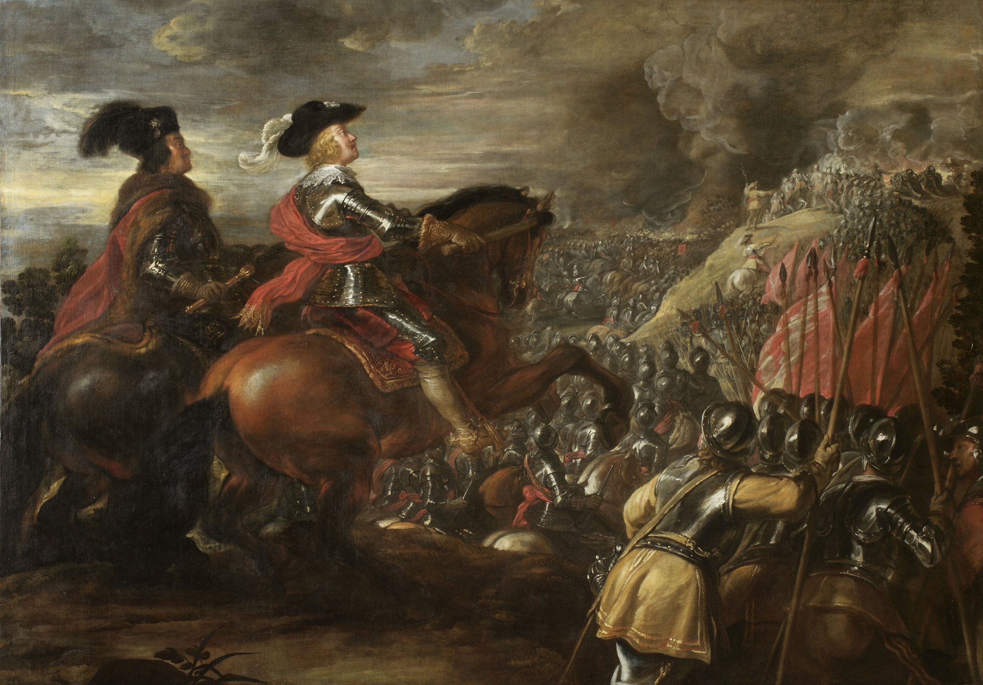 The Battle of Nördlingen, 1634-5, Jan van den Hoecke, Flemish