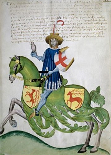 Illustration to Codex Capodilista by Giovan Francesco Capodilista, 1433-1459, ?, Padua, Italy