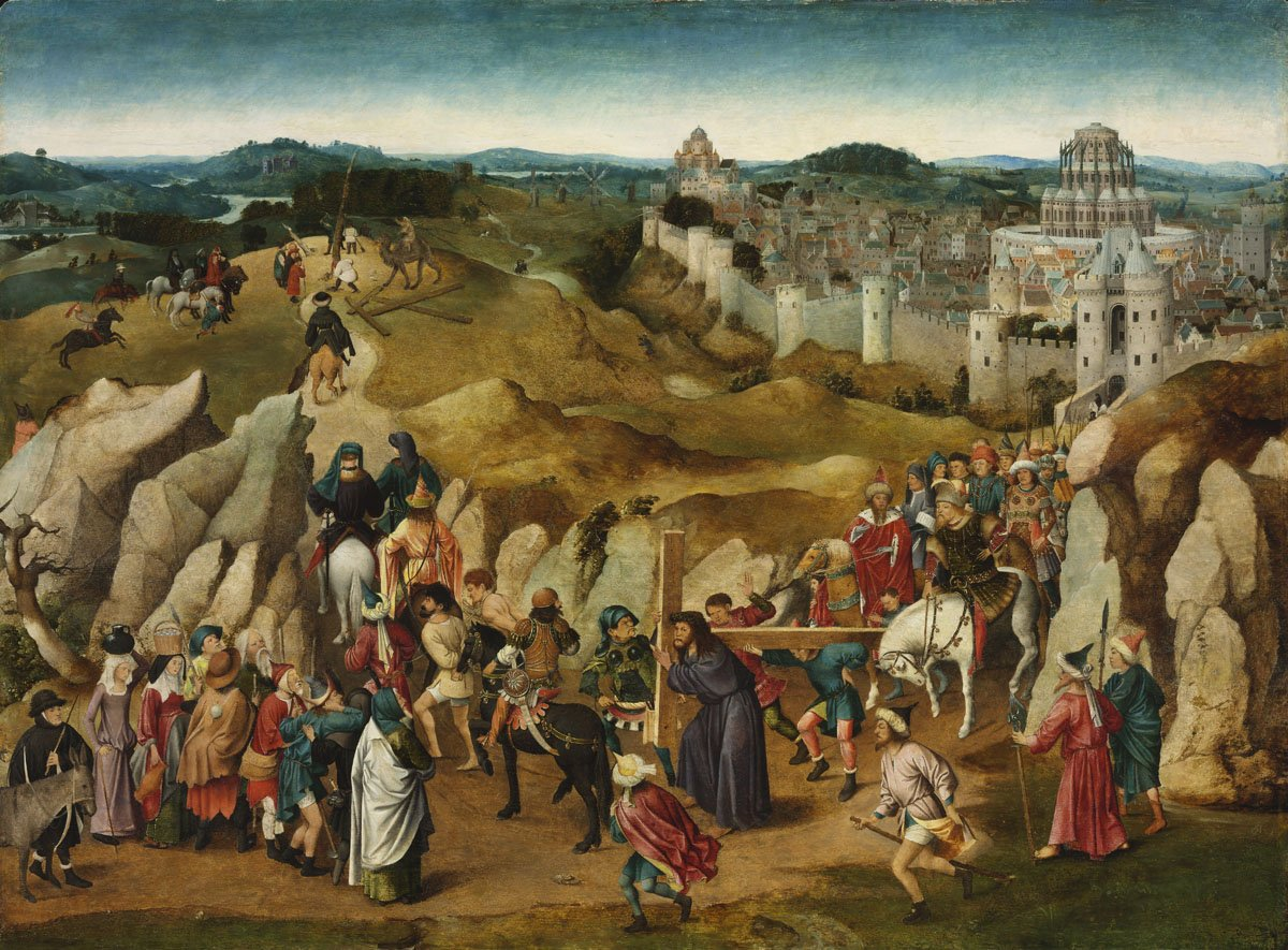 The Way to Calvary, cr. 1505–15, Jan van Eyck (after), Netherlandish