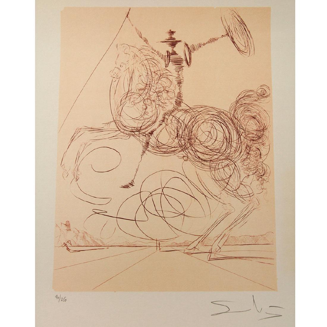 Don Quixote,?, Salvador Dalí