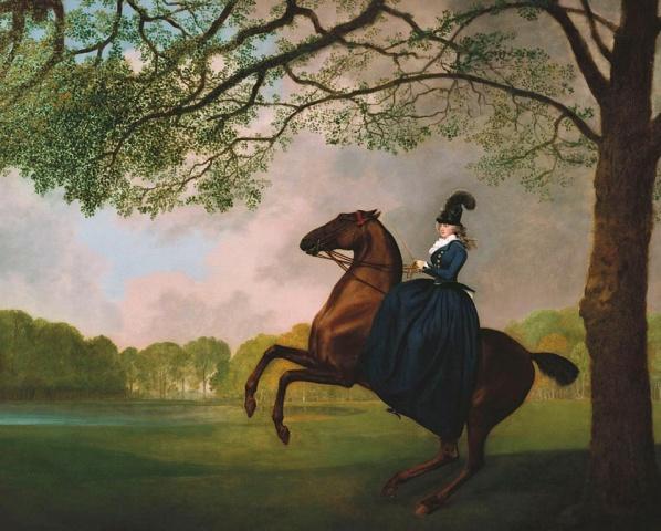 Laetitia, Lady Lade,1793, George Stubbs