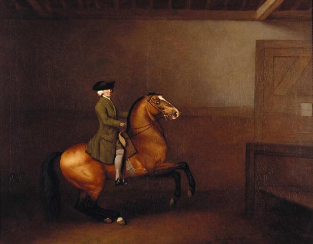 Portrait of a Gentleman,1791, George Stubbs