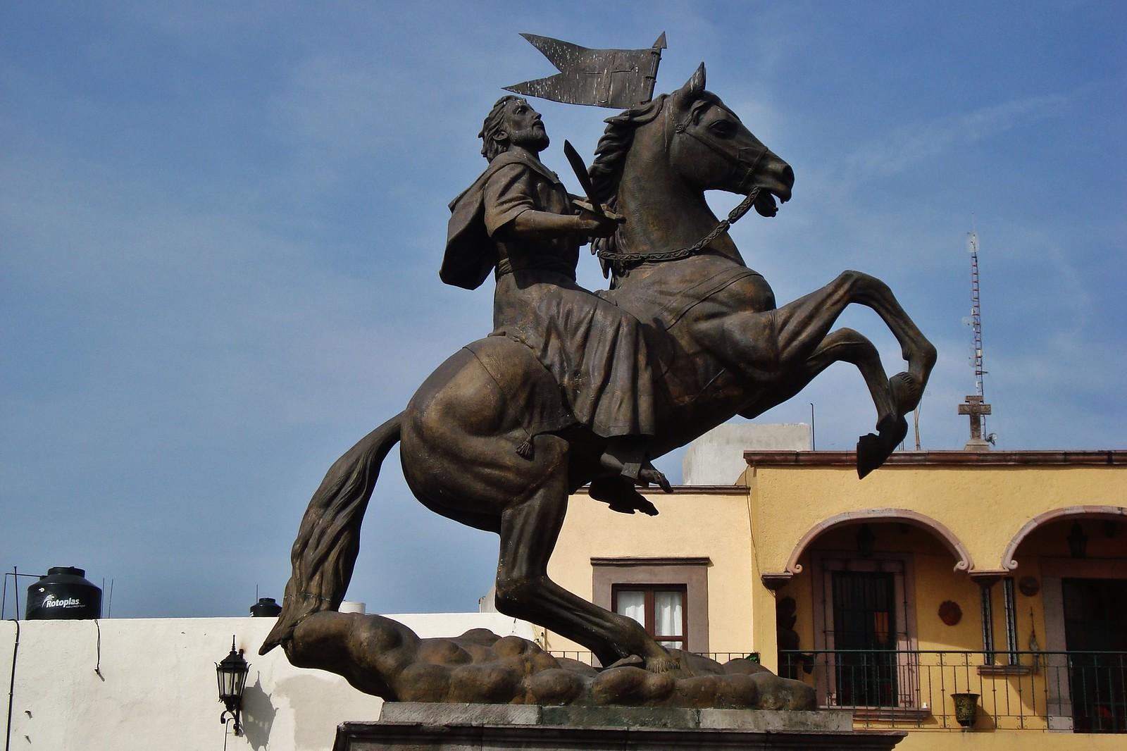 Statue of Santiago Matamoros, ?, Santiago de Querétaro, Querétaro, México