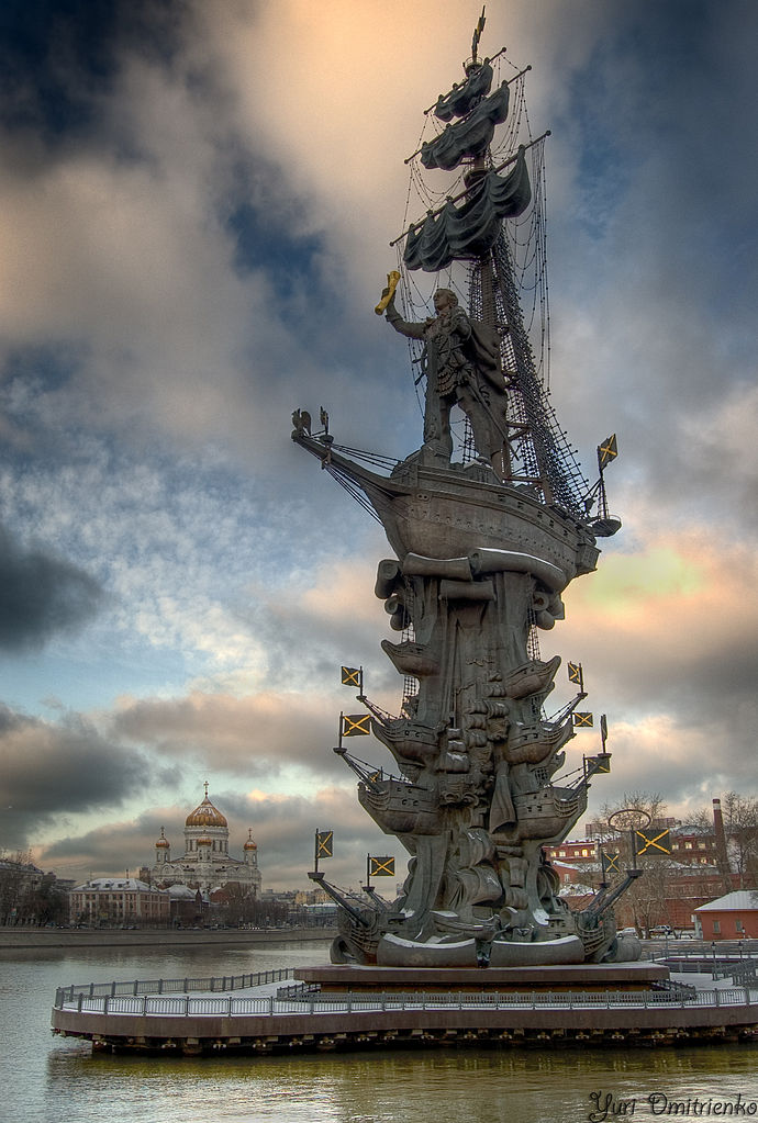 Peter the Great Statue,1997, Zurab Tsereteli