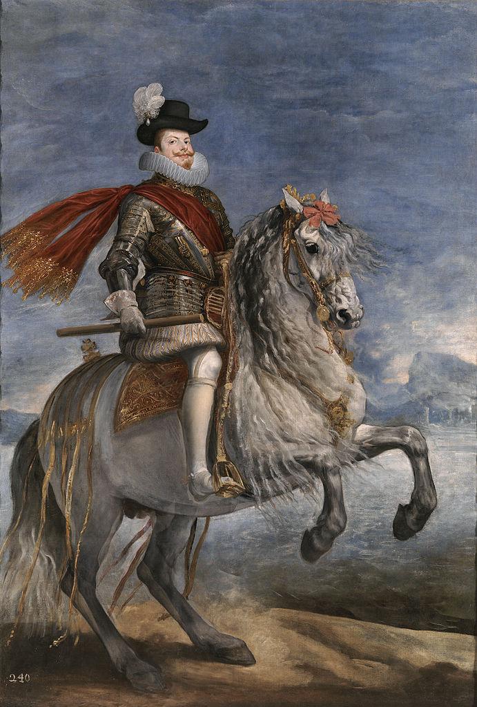 Philip III on Horseback, 1634-5, Diego Velázquez