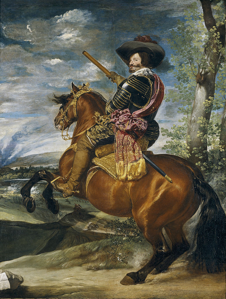 COMPARANDUM: Equestrian Portrait Of The Count-Duke Of Olivares, 1634, Diego Velázquez