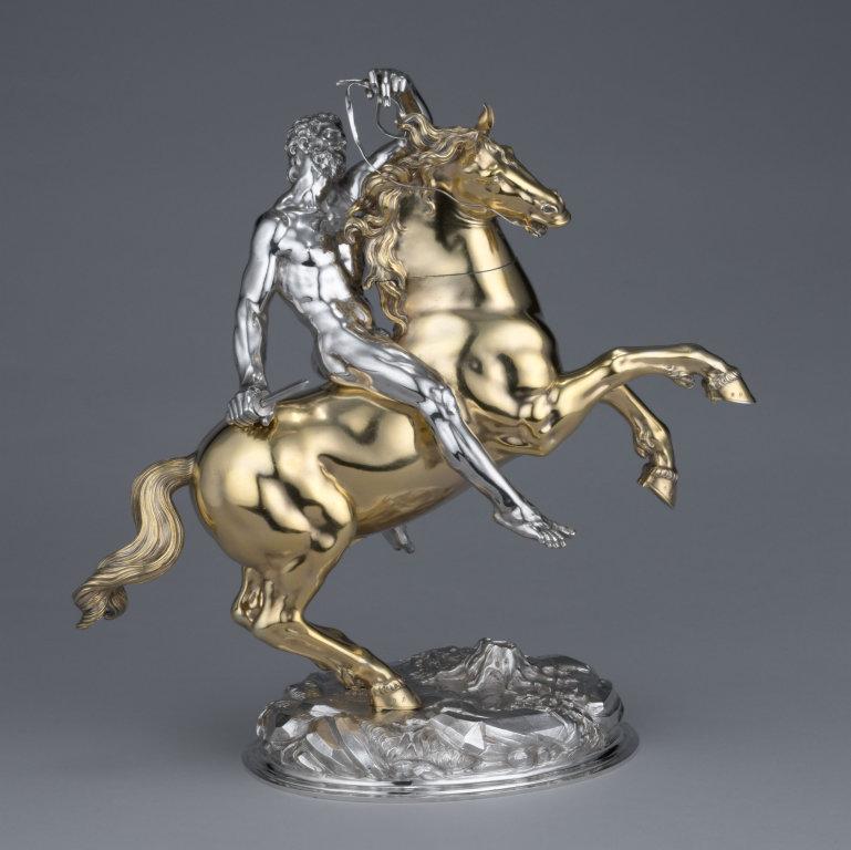 Horse and Rider,1630, Hans Ludwig Kienle, Ulm, Germany
