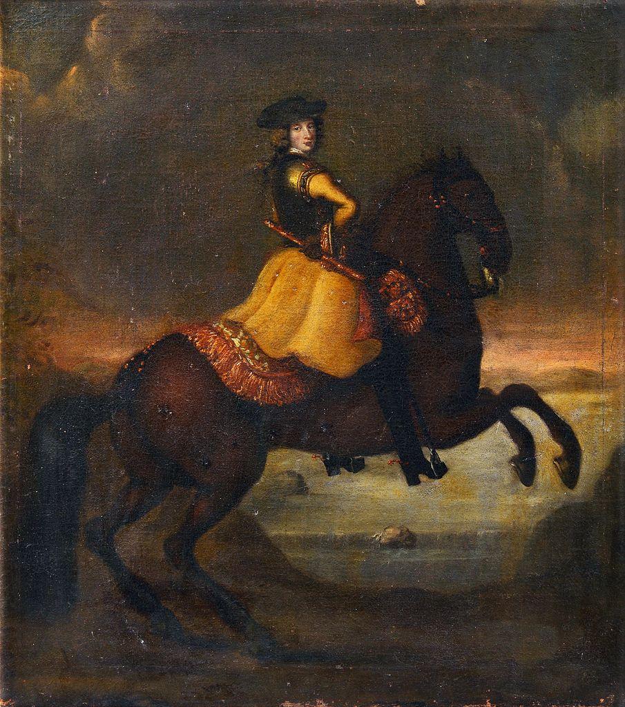 Karl XII,late 17th century - early 18th century, circle of David von Krafft