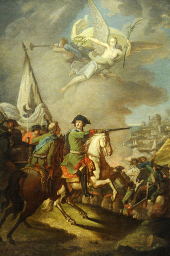 Peter I on horseback, unknown, end of the 18th century