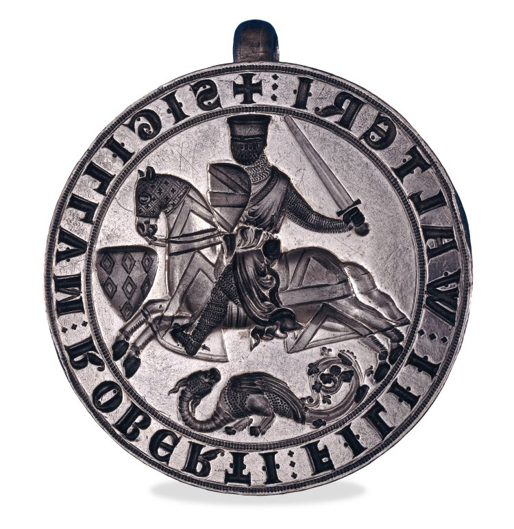 Seal of Robert Fitzwalter (1213 - 1219 ?)