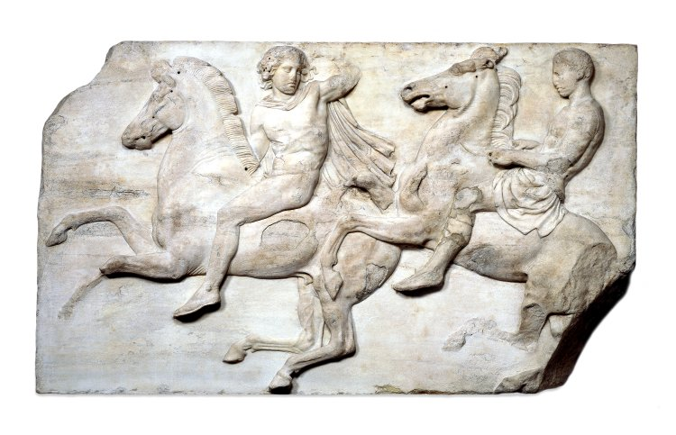 West Frieze of the Parthenon, Block II, 438 BC-432 BC, Athens