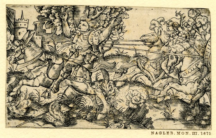 Death of Absalom, 1520-80, Germany