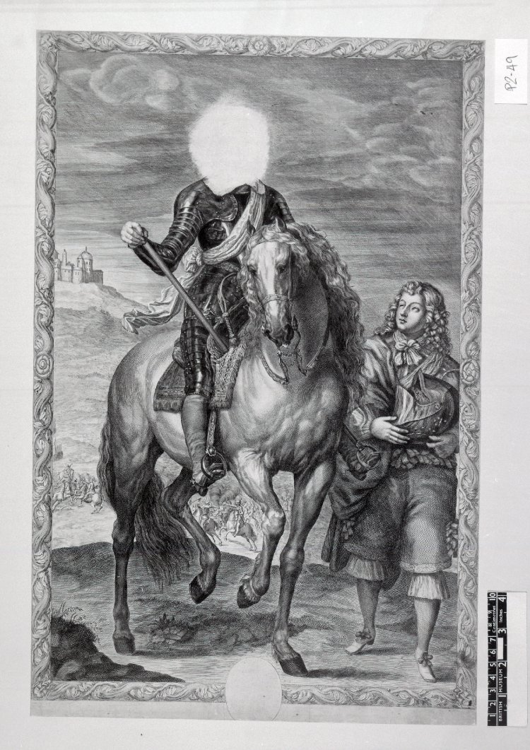 The Headless Horseman,1655, Pierre Lombart
