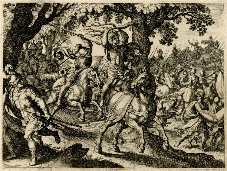 Death of Absalom, 1625-30, Matthäus Merian I, Frankfurt am Main, Germany